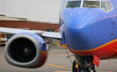 Southwest Airline 737 Engine