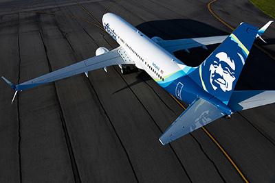 Alaska Airline Boeing 737