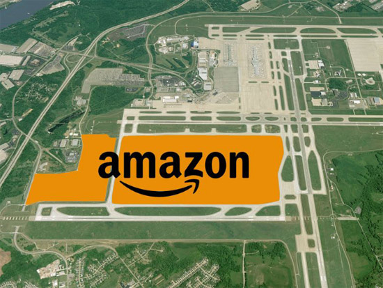 Amazon Air Cincinnati Cargo Hub